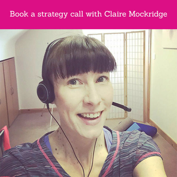 Claire Mockridge Strategy Call